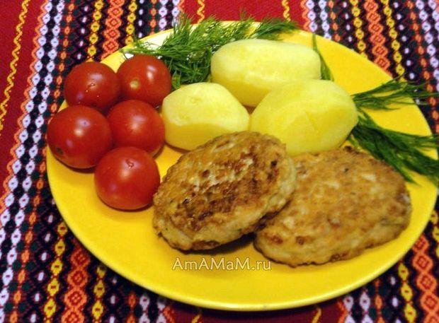 Рыбные котлеты с картошкой рецепт очень вкусно