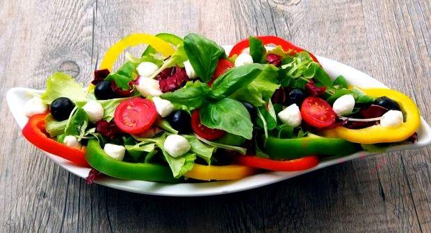 Салат греческий рецепт классический с брынзой фото с оливками