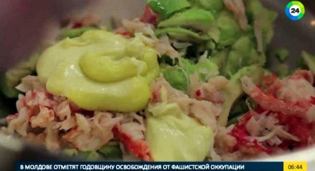 Салат из авокадо с креветками рецепт с фото очень вкусный