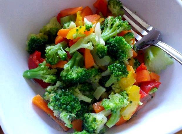 Салат из брокколи рецепт с фото очень вкусный