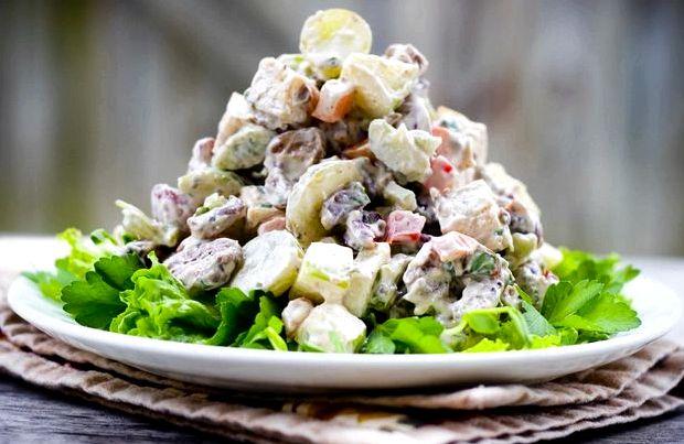 Салат с тунцом консервированным рецепт простой диетический