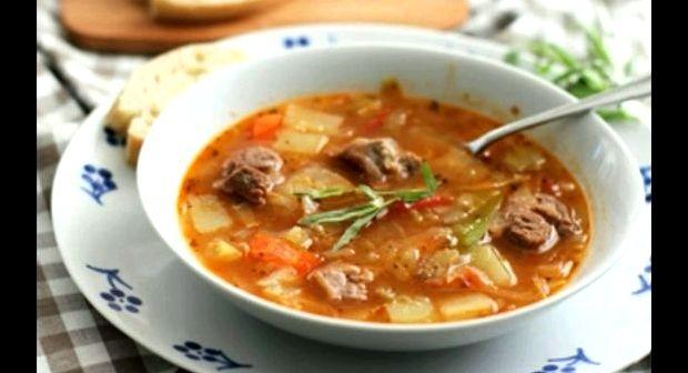 Суп щи из свежей капусты рецепт фото