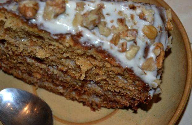 Сметанный крем для торта со сгущенкой пошаговый рецепт с фото
