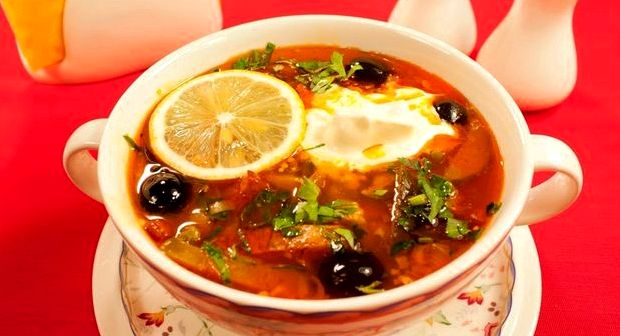Солянка сборная рыбная классическая рецепт с фото пошаговый