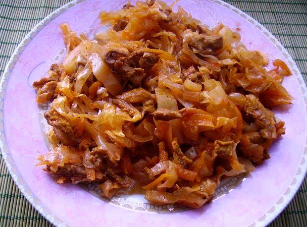 Солянка в мультиварке рецепт из капусты со свининой