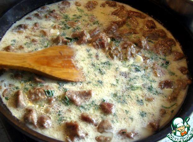 Соус из свинины с картошкой рецепт с фото пошагово