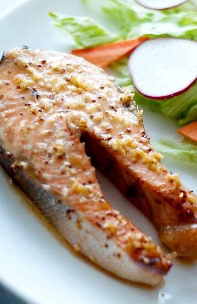 Стейк лосося в духовке в фольге рецепт с фото
