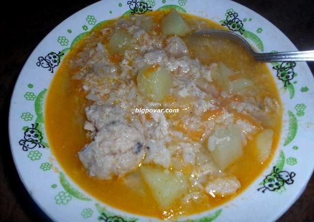 Суп из рыбных консервов горбуша рецепт с фото