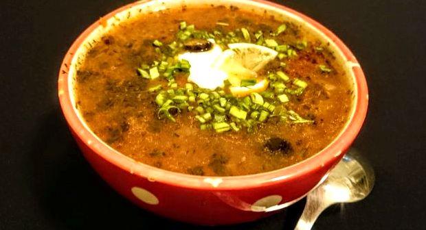 Суп солянка рецепт классический с колбасой с фото пошагово