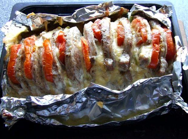 Свинина в фольге с картошкой рецепт с фото в духовке