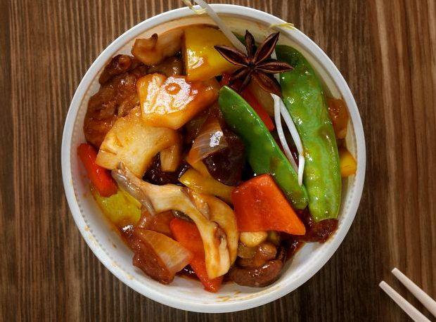 Свинина в кисло сладком соусе китайская кухня рецепт с фото