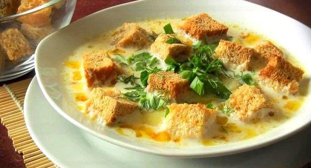 Сырный суп с брокколи рецепт с плавленным сыром
