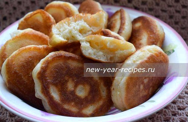 Тесто для оладьев на кефире без дрожжей пышные рецепт