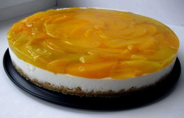 Торт из печенья из творога без выпечки фото рецепт с желатином