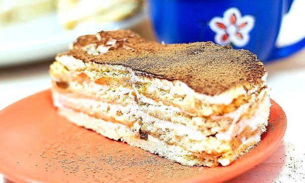 Торт из печенья со сгущенкой рецепт с фото пошагово без выпечки