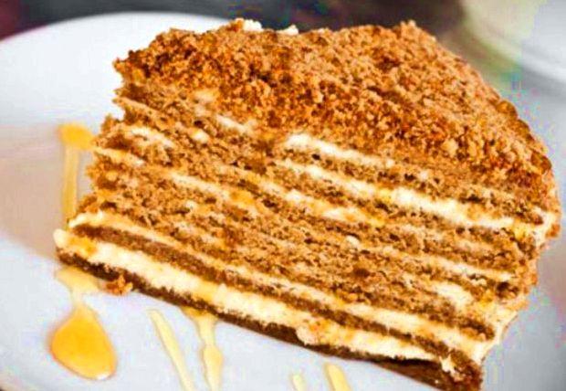 Торт медовик классический: рецепт с