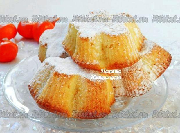 Творожные кексы рецепт с фото пошагово в духовке