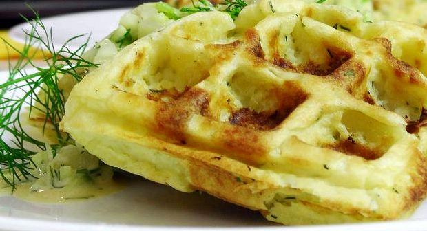 Вафли картофельные в электровафельнице рецепт