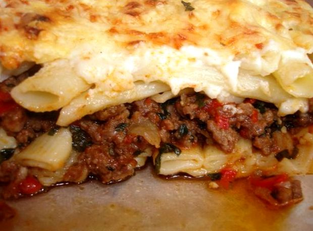Это блюдо кардинально отличается от мяса с гарниром из макаронных изделий.