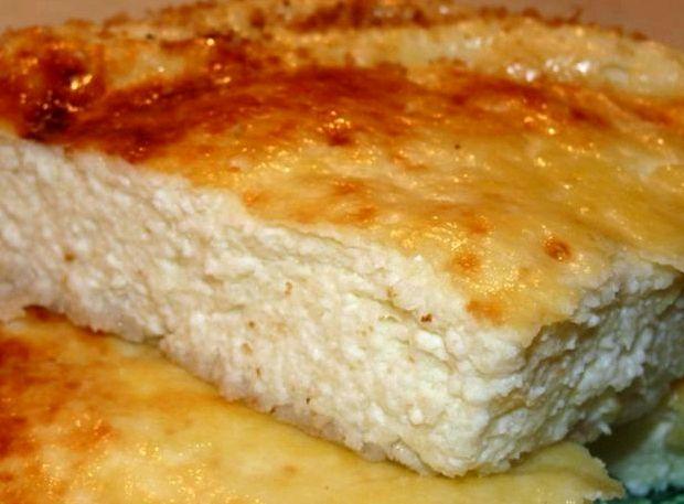 Запеканка творожная рецепт в духовке со сметаной