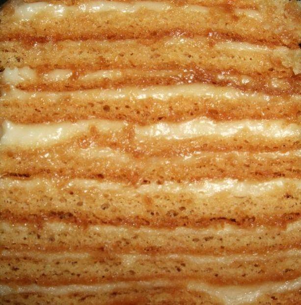 Заварной крем классический рецепт для медовика