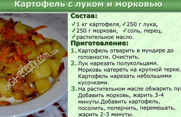 Жарим картошку с луком на сковороде пошаговый рецепт