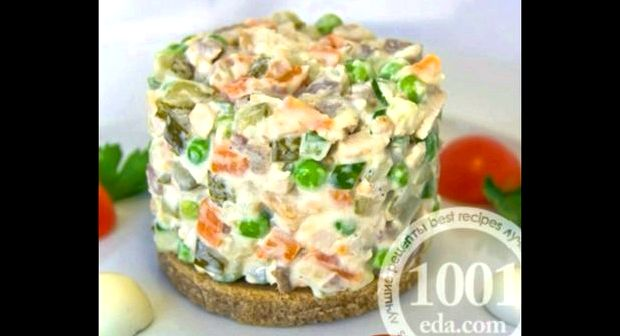 Зимний салат рецепт классический со свежими огурцами